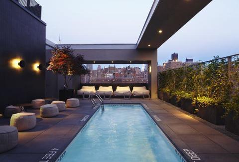 La Piscine at Hotel American-Rooftop Bars