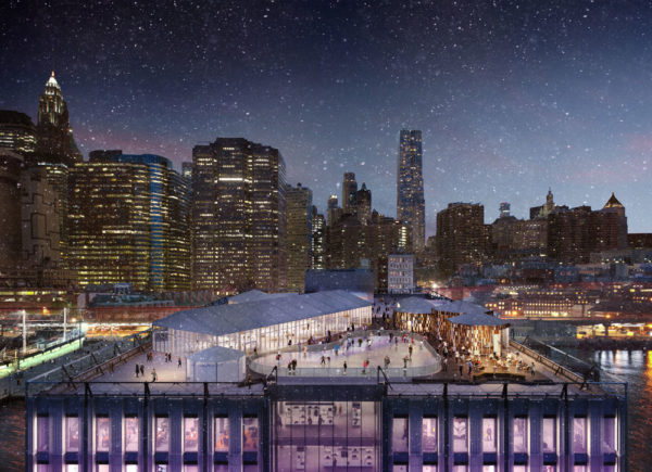Winterland Rink at The Rooftop Pier 17