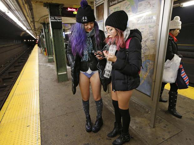 No Pants Subway Ride 2019