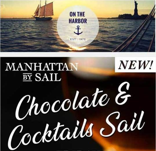 Chocolate & Cocktails Sail