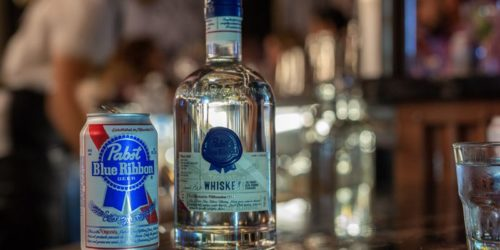 PABST BLUE RIBBON WHISKEY LAUNCH WITH PAPI JUICE