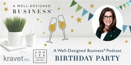 A Well Designed Business Podcast® 4th Birthday Party