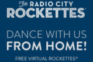 Dance With Us From Home @Rockettes