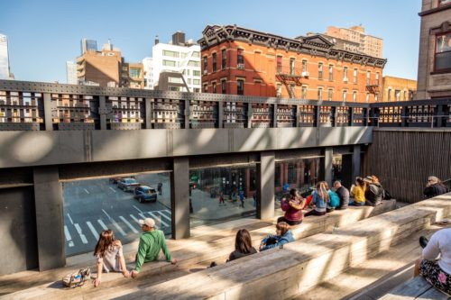 High Line Reopening