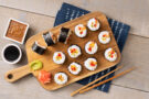 Make Your Own Sushi Rolls and Miso Soup with Chef Kakusaburo Sakurai