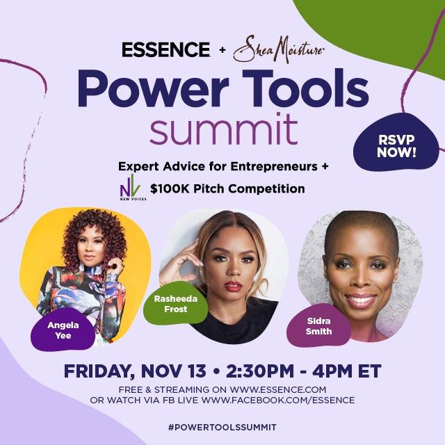 ESSENCE & Shea Moisture for Power Tools