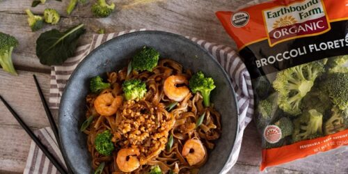 Homemade Events: FREE Broccoli Pad Thai with Shrimp & Fried Peanuts