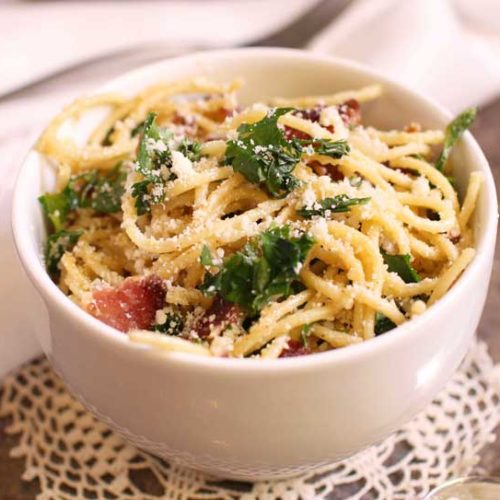 Homemade: FREE Pasta Carbonara