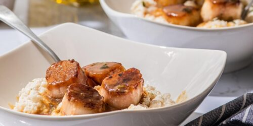 Homemade Events: FREE Caramelized Scallops, Cauliflower Grits