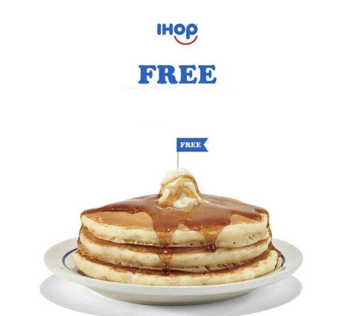 Free Stack of Pancakes @IHOP