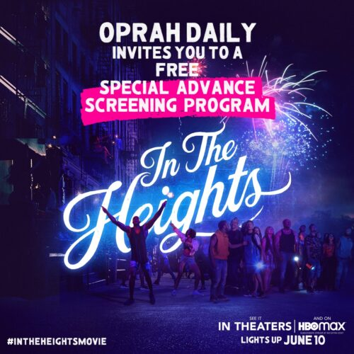 Oprah Daily's In the Heights Block Party!