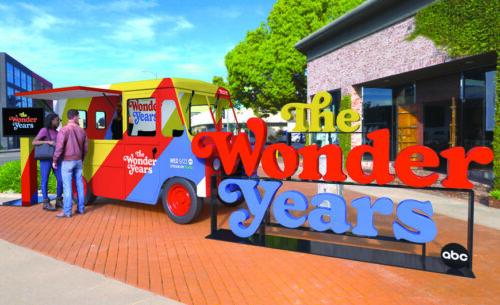 THE WONDER YEARS ICE CREAM TRUCK TOUR