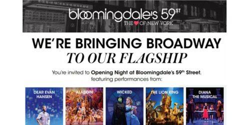 Broadway at Bloomingdale's 59th Street