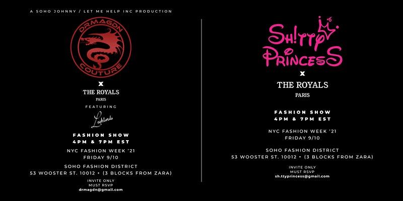 NY Fashion Week Fashion Show: DRMAGDN x SHITTY PRINCESS x HICHAM BENS